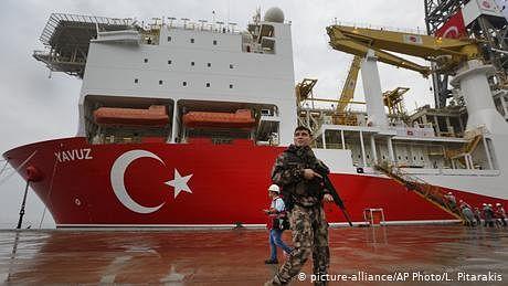 ترکی اور یونان کے مابین 'گیس کے خزانے'  کی لڑائی