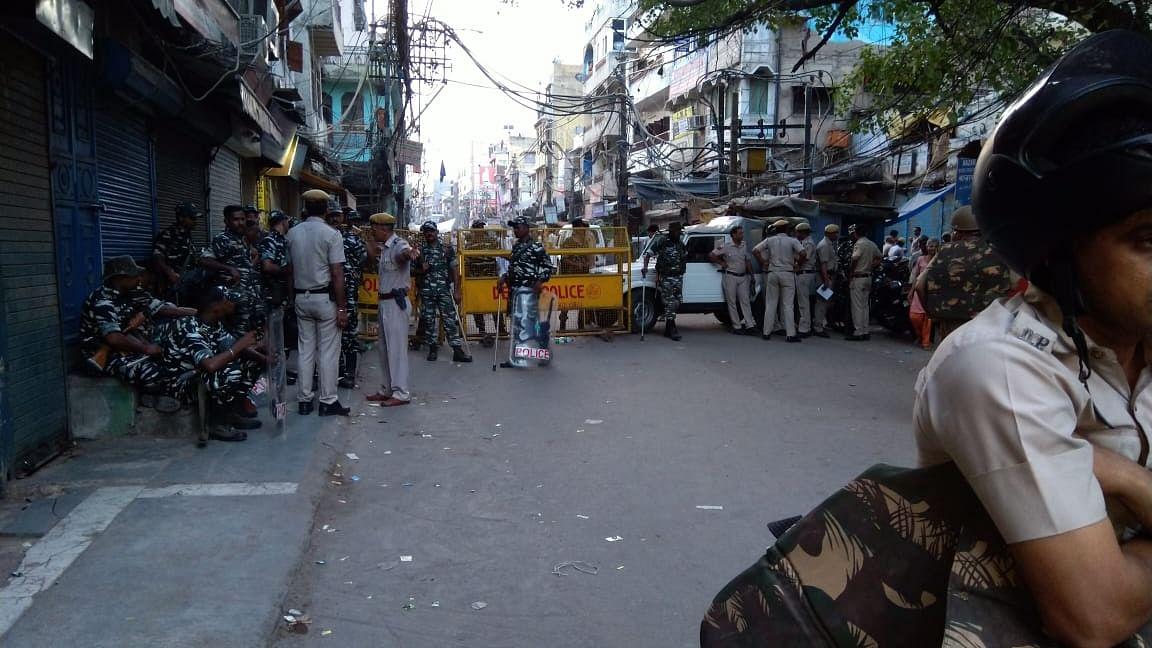 پُرانی دہلی: لال کنواں میں فرقہ وارانہ فساد کے ماحول سے عوام خوفزدہ
