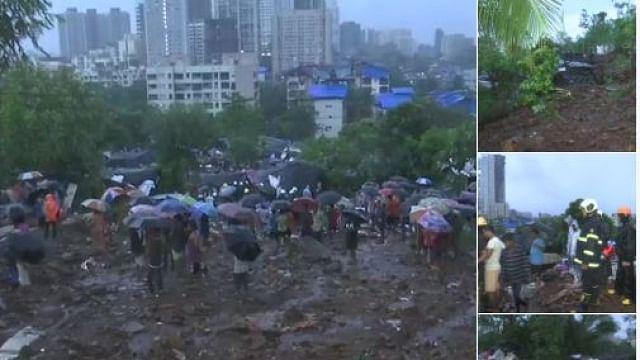 ممبئی میں ہائی الرٹ، عام تعطیل کا اعلان، کئی جگہ دیواریں منہدم، درجنوں ہلاکتیں