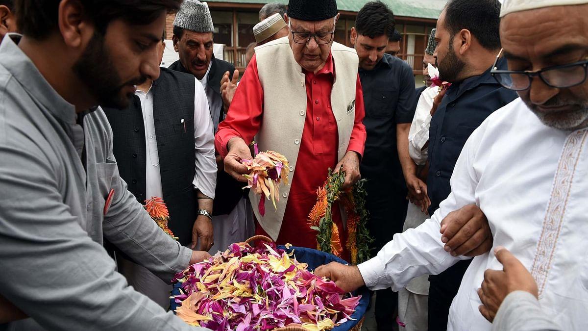 ستیہ پال ملک بی جے پی کے گورنر ہیں، وہ مزار شہداء پر کیوں آئیں گے: فاروق عبداللہ
