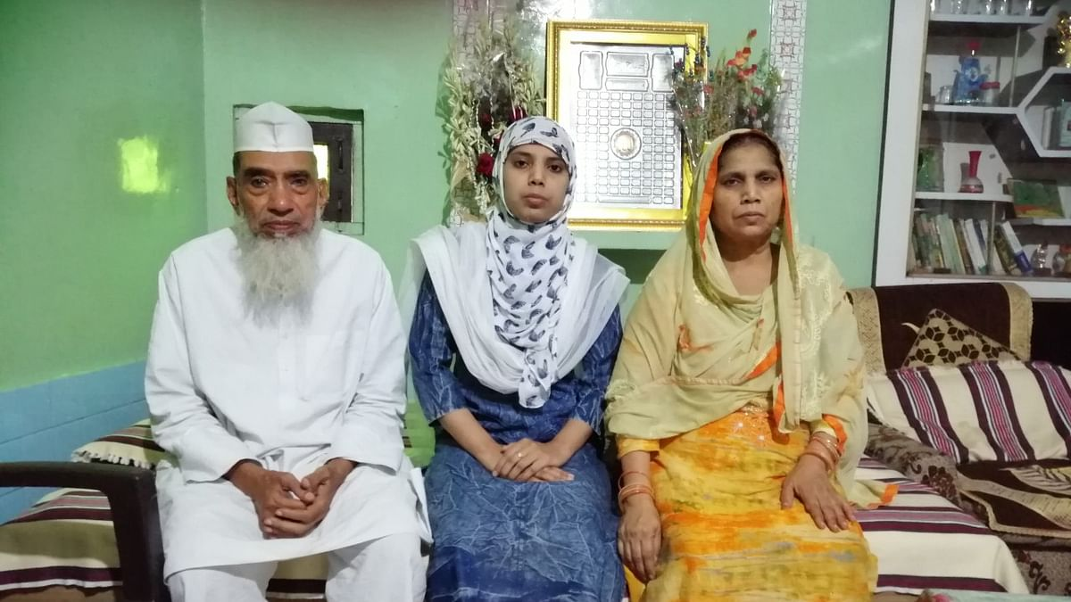 جج بننے والی کھتولی کی زینت پروین، مسلم بیٹیوں کے لئے 'زینت'