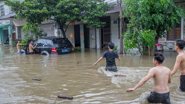 چین میں لیکیما طوفان سے 49 لوگوں کی موت