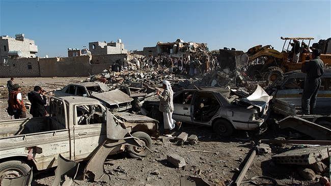 سعودی عسکری اتحاد کے اپنے ہی سابقہ یمنی اتحادیوں پر بڑے حملے