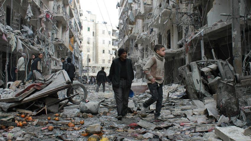 کم جارحیت والے علاقوں میں شامی شہر تباہ ہو چکے ہیں: سلامتی کونسل