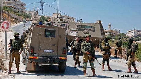 اسرائیلی کارروائی میں 4 فلسطینی جنگجو ہلاک