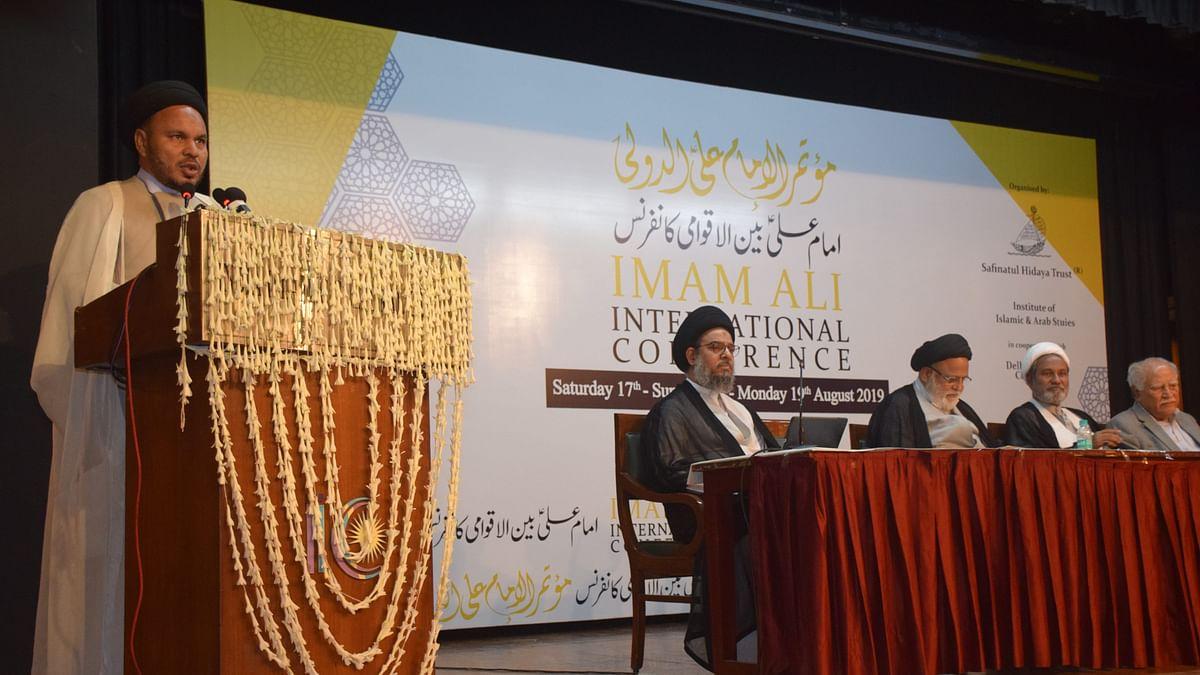 اتحاد امت کے پیغام کے ساتھ سہ روزہ امام علی بین الاقوامی کانفرنس اختتام پذیر