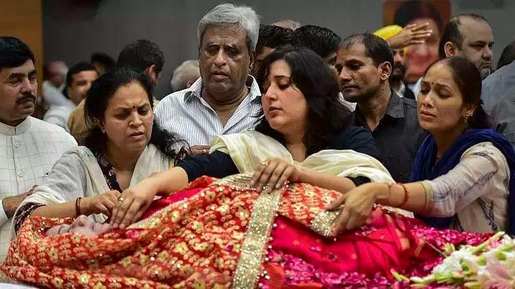 سشما سوراج کی آخری رسومات سرکاری اعزاز کے ساتھ  ادا، بیٹی نے دی مکھاگنی