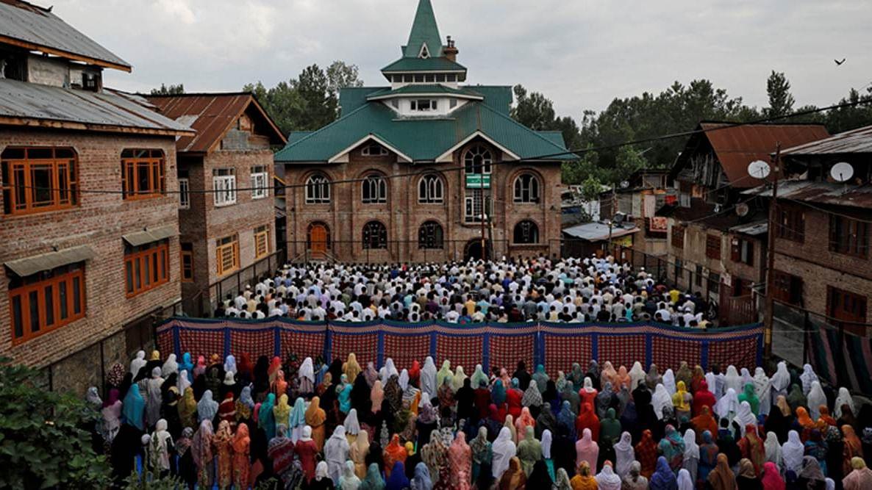 جموں و کشمیر میں پرامن طریقے سے منائی گئی عید