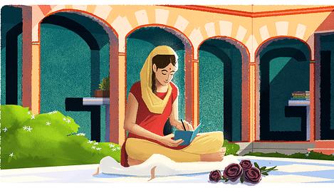 امرتا پریتم کے اعزاز میں گوگل نے بنایا ڈوڈل