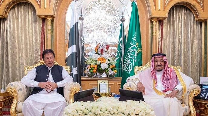 عمران خان کی سعودی ولی عہد اور فرمانروا سے ملاقات، کشمیر معاملے پر تبادلہ خیال