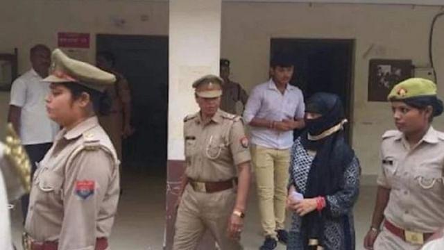 شاہجہاں پور عصمت دری: متاثرہ رنگداری کے الزام میں گرفتار، 14 دن کی عدالتی حراست میں