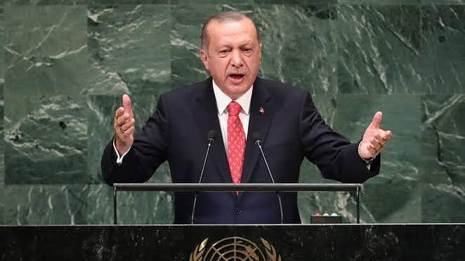 طیب اردوغان نے اقوام متحدہ میں اٹھایا کشمیر کا مسئلہ