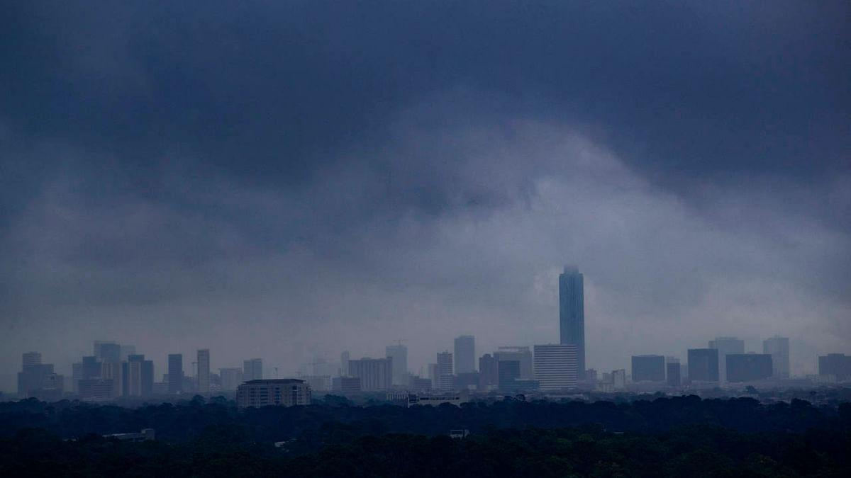 مودی اور ٹرمپ کے ہیوسٹن اجلاس پر چھائے بارِش کے بادل، شہر کے کئی علاقوں میں پانی