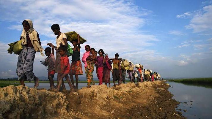 'ہندوستان روہنگیا مسئلہ پر بنگلہ دیش اور میانمار کے درمیان مذاکرات کا حامی'