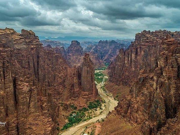 وادی الدیسہ سعودی عرب کا خوبصورت نخلستان