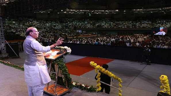 ہندوستان میں اقلیتی طبقہ محفوظ ہے اور رہے گا: راج ناتھ