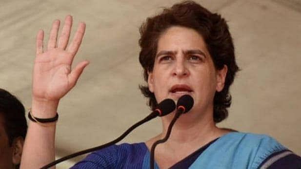 عوام بدحال، حکومت خود میں ہے مست: پرینکا گاندھی