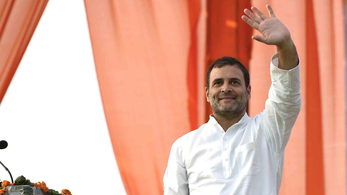 کانگریس کا 'نیائے منصوبہ' نافذ ہوتا تو کساد بازاری نہیں آتی: راہل گاندھی
