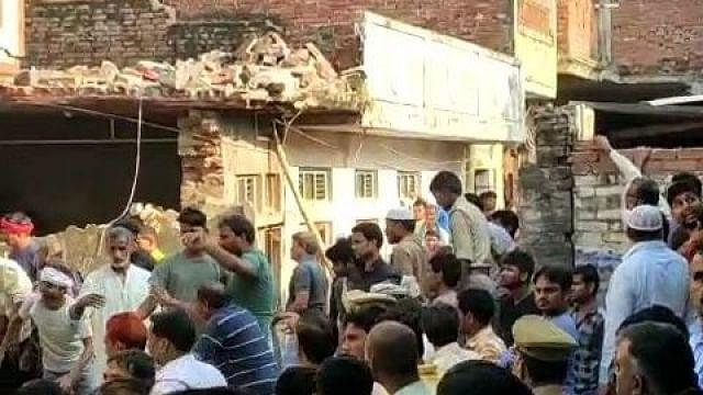 اتر پردیش کے محمد آباد میں سلنڈر پھٹنے سے 10 افراد ہلاک، 15 زخمی