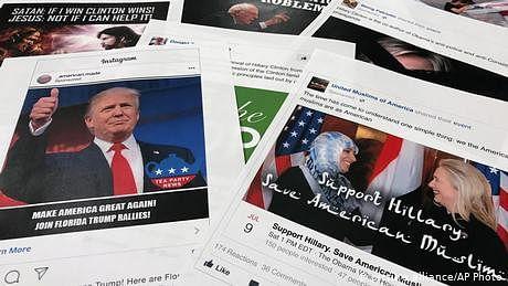فیس بک نے درجنوں روسی جعلی اکاؤنٹس بند کر دیے