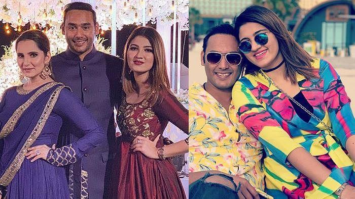 اظہر الدین کے بیٹے کی ثانیہ مرزا کی بہن سے ہوگی شادی