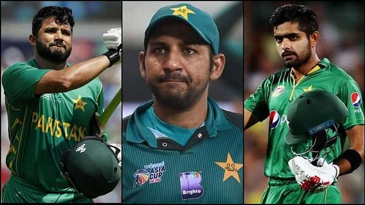 سرفراز نے پاکستانی کرکٹ ٹیم کی کپتانی گنوائی، اظہر اور بابر  نئے کپتان مقرر