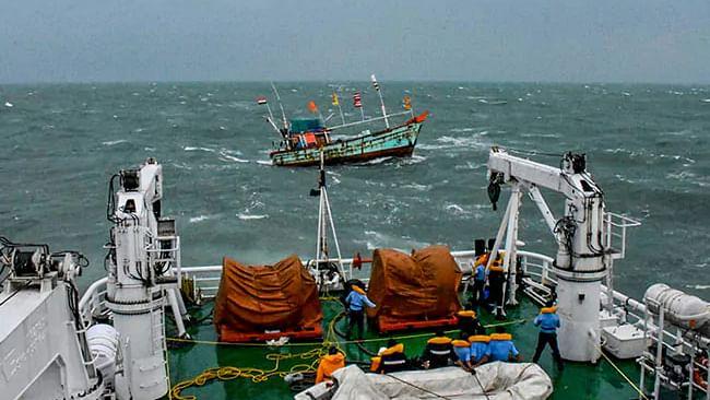کرناٹک میں سمندری طوفان 'کاریر' کے سبب شدید بارش