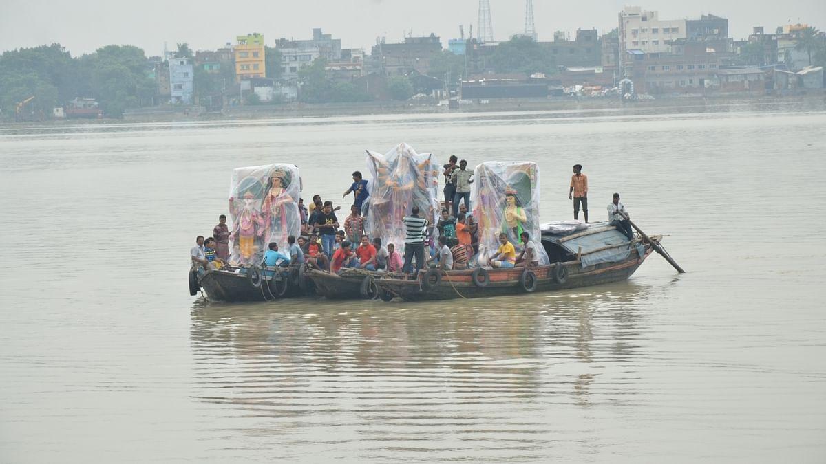 یو پی: گھاگھرا ندی میں کشتی پلٹنے سے حادثہ، 18 افراد ڈوبے، چار خواتین لاپتہ