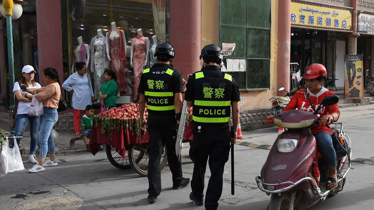 'چینی افسروں کے ویزہ پر امریکی پابندی بین الاقوامی ضابطوں کی خلاف ورزی'