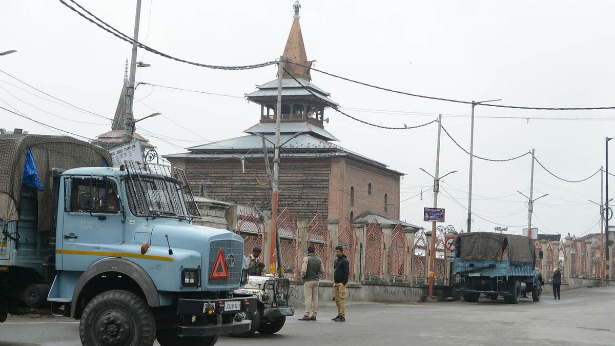 کشمیر میں ہڑتال کا 61 واں دن: تاریخی جامع مسجد نویں جمعہ کو بھی مقفل!