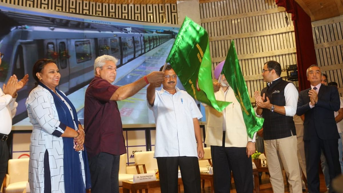 دہلی: دوَارکا-نجف گڑھ 'گرے لائن' پر میٹرو خدمات کا آغاز