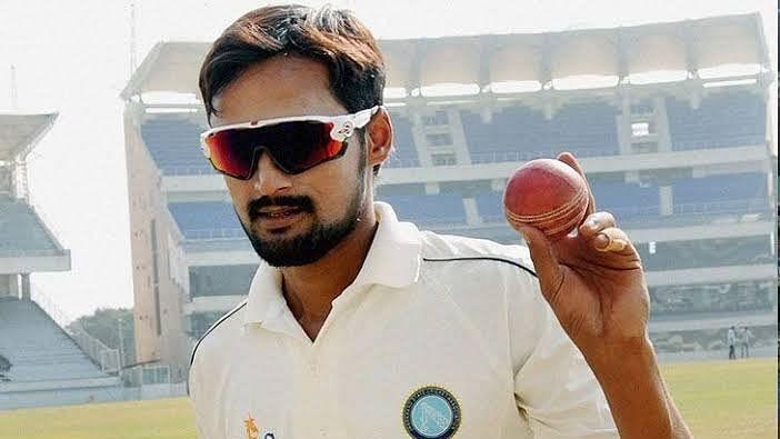 شہباز ندیم رانچی ٹیسٹ کے لئے ہندستانی ٹیم میں شامل