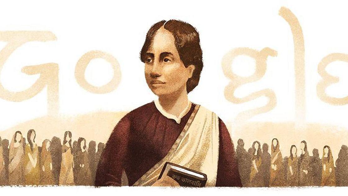 ہندوستان کی پہلی خاتون گریجویٹ کامنی رائے، گوگل نے ڈوڈل بنا کر یاد کیا