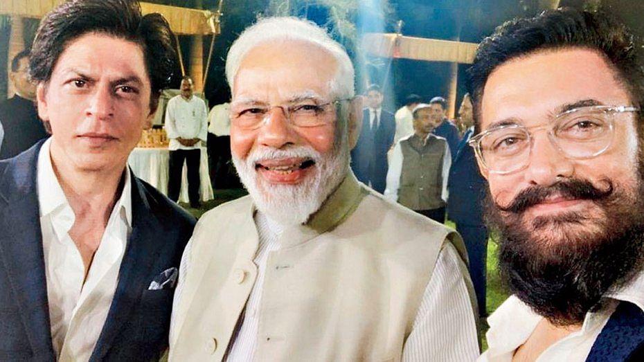 شاہ رخ خان نے فلمی ہستیوں سے گفتگو کے لئے وزیر اعظم کا شکریہ ادا کیا
