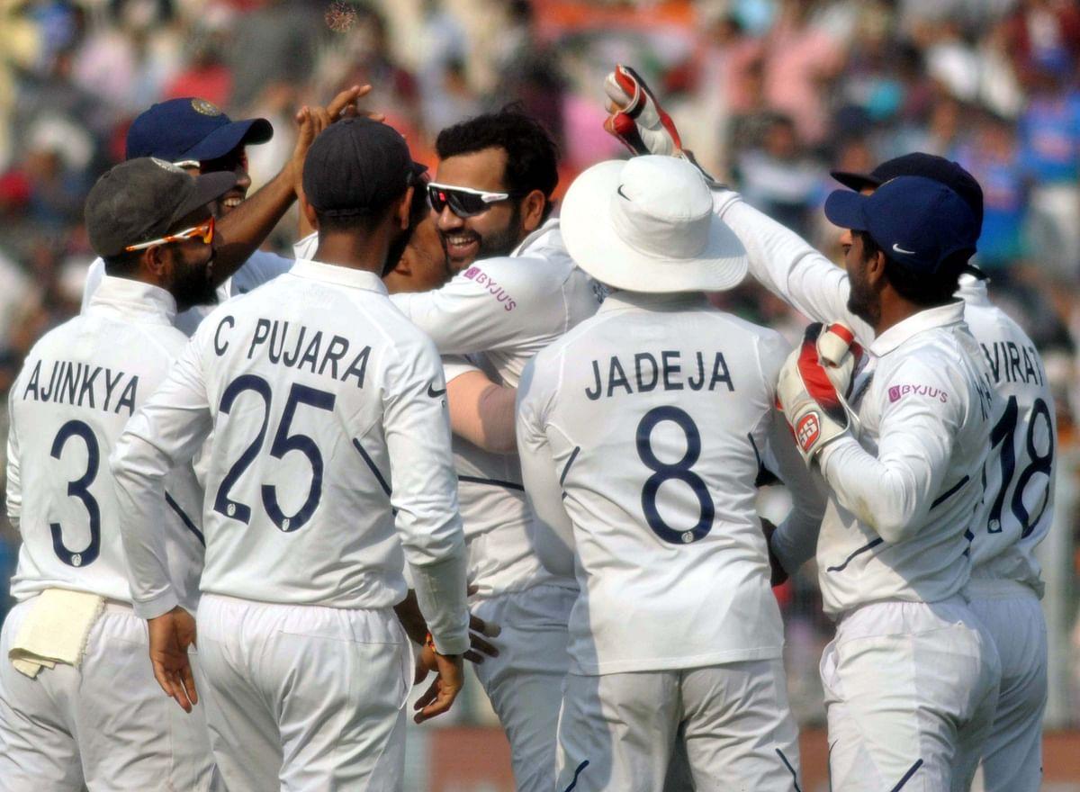 گلابی ٹیسٹ میں ہندوستان کی زبردست گیند بازی، بنگلہ دیش 106 رونوں پر ڈھیر