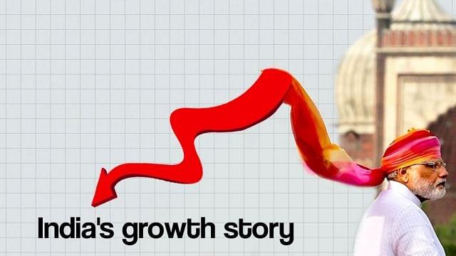پی ایم مودی نے کہا 'حکومت کے پہلے 6 مہینے میں ترقی ہوئی'، اعداد و شمار نے کھولی قلعی