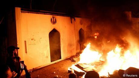 عراق میں ایران مخالف عوامی غصہ: بڑے بڑے 'ممنوعہ شجر' گر گئے
