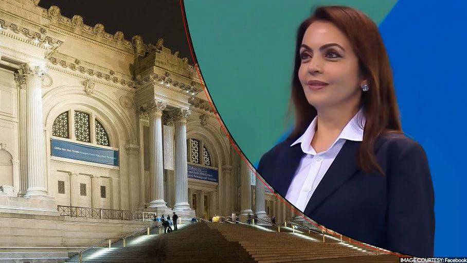 نیتا امبانی نیویارک کے 'میٹرو پالیٹن میوزیم آف آرٹ' کی ٹرسٹی نامزد
