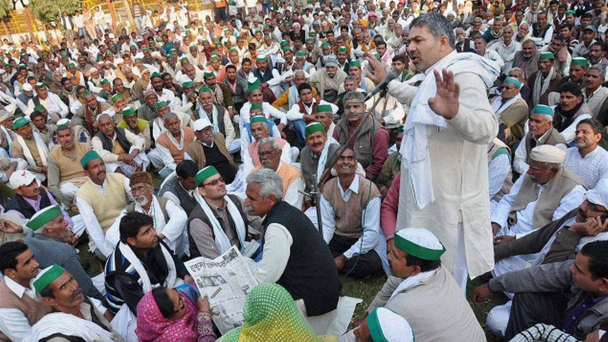 حکومت گنے کی قیمت 450 روپئے فی کوئنٹل کرے: بھارتیہ کسان یونین