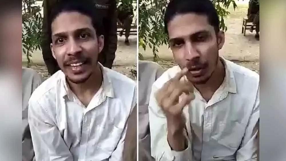 پاکستان میں داخل ہونے والے حیدرآبادی نوجوان کی ویڈیو وائرل، 'میرا بیٹا بےقصور ہے'