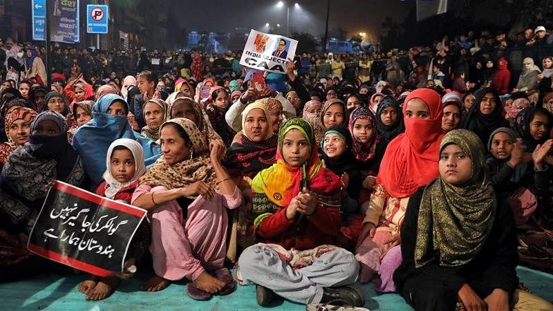 شہریت ترمیمی قانون کے خلاف شاہین باغ میں خواتین کا دھرنا 17ویں روز بھی جاری