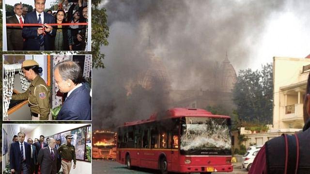 جامعہ جل رہا تھا اور دہلی پولس کمشنر 'فوٹو شوٹ' میں تھے مصروف