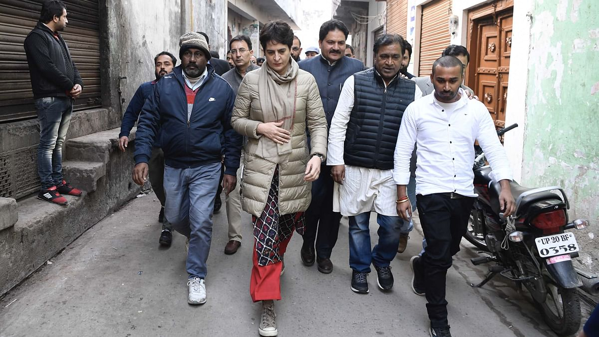 پرینکا گاندھی 26 دسمبر کو لکھنؤ میں، احتجاج متاثرین کے اہل خانہ سے ملاقات کے امکانات