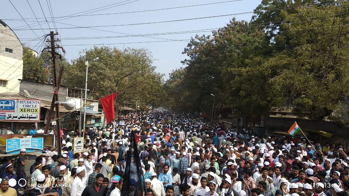 مالیگاؤں میں سی اے اے کے خلاف  ہندو-مسلم اتحاد کا عدیم المثال مظاہرہ