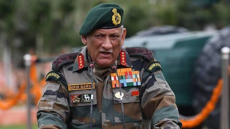 فوجی سربراہ جنرل راوت اپنے کام سے مطلب رکھیں: چدمبرم