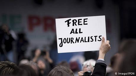 صحافیوں کی سب سے زیادہ تعداد چین اور ترکی میں قید