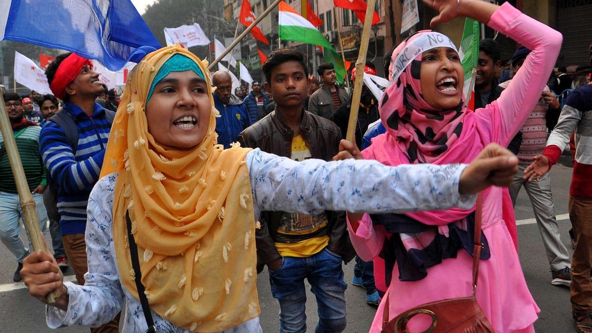 مغربی بنگال: شہریت ترمیمی ایکٹ کے خلاف کانگریس اور بایاں محاذ کا مشترکہ جلوس