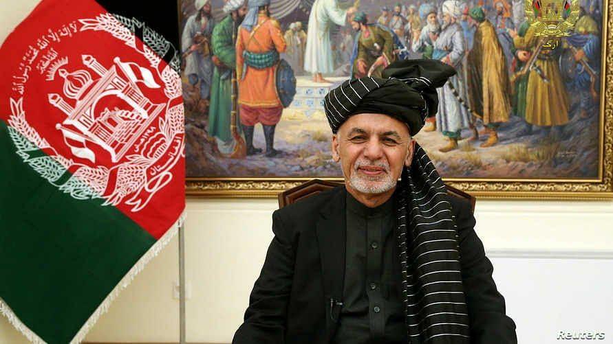 اشرف غنی افغانستان کے صدر منتخب