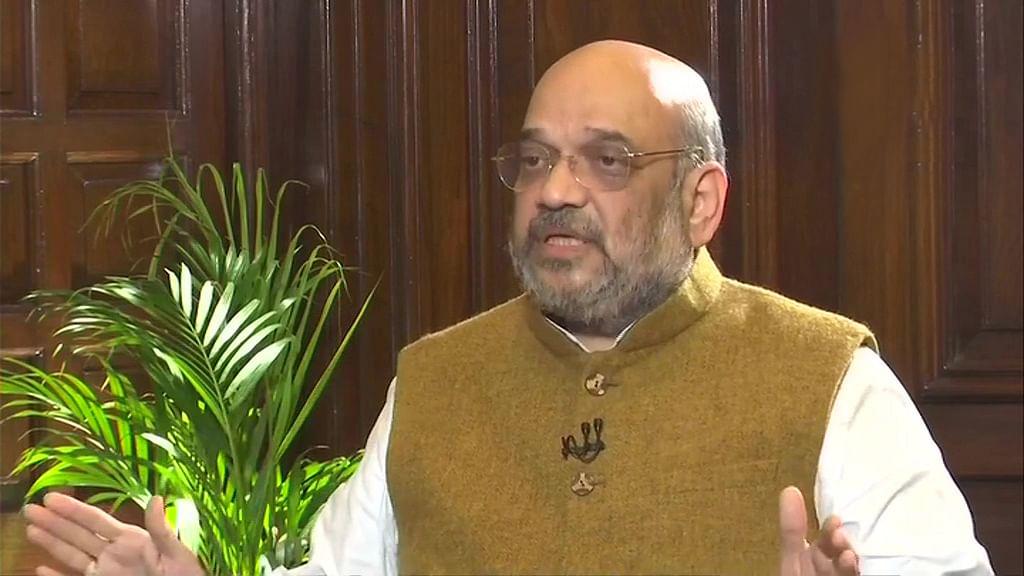 'پارلیمنٹ یا کابینہ میں این آر سی پر بات نہیں ہوئی' امت شاہ نے دہرایا مودی کا جھوٹ