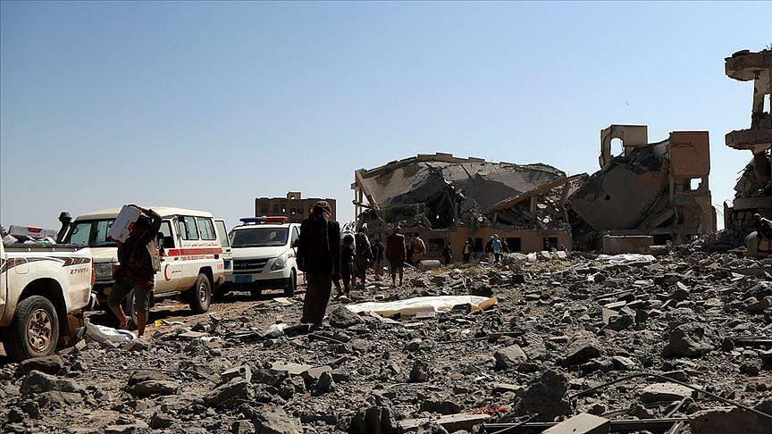 یمن: آرمی کیمپ میں مسجد پر میزائل حملہ، 100 سے زائد فوجی ہلاک